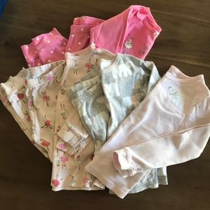 Bundle of Carter's 4T pajamas